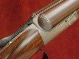 "John Dickson & Son 12 bore Round Action Ejector With 30"" Original Dickson Damascus Barrels"
