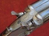 William Powell & Son 12 bore Bar-in-Wood Bar-Action Hammergun - No.1 of a Pair