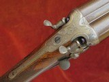 """Army & Navy CSL 12 Bore Backaction Sidelever Hammergun with 30"""" Nitro Damascus Barrels"""