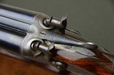 "Joseph Harkom & Son 12 Bore Bar Action Hammergun with 30"" Barrels and Highly Figured Stock --- Edinburgh - 3 of 10"