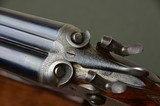"Joseph Harkom & Son 12 Bore Bar Action Hammergun with 30"" Barrels and Highly Figured Stock --- Edinburgh - 8 of 10"