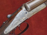 J Blanch & Son 12 Bore Back Action Sidelock Ejector – Beautifully Engraved