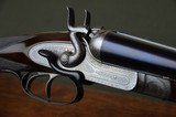 """Stephen Grant & Sons Bar Action Hammer Pigeon Gun with Sidelever and 31"""" Barrels – Excellent and Cased - 1 of 14"""