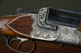 """Greifelt & Co. 12 Ga Boxlock Ejector Imported by VL&D with Profuse Engraving and Highly Figured European Walnut Stock – 30"""" Barrels"""