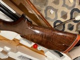 """Rare Remington 1100 Classic Trap 12 ga shotgun Super fancy high grade gun 30"""" Rem Choke barrel in perfect condition with minor marks from use and stor - 10 of 12"""