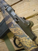 Springfield Armory M1A Pre-ban, with Tiger Stripe G.I. stock - 3 of 9