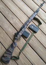 Springfield Armory M1A Pre-ban, with Tiger Stripe G.I. stock