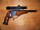 Thompson Contender .22LR First Model, Bull Barrel, with Scope