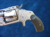 Antique Smith & Wesson 2nd Model SA .38 S&W. Excellent Mechanics. - 3 of 10