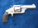 Antique Smith & Wesson 2nd Model SA .38 S&W. Excellent Mechanics. - 4 of 10