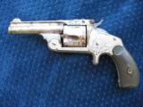 Antique Smith & Wesson 2nd Model SA .38 S&W. Excellent Mechanics. - 1 of 10