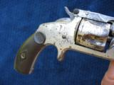 Antique Smith & Wesson 2nd Model SA .38 S&W. Excellent Mechanics. - 6 of 10