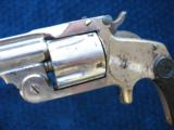 Antique Smith & Wesson 2nd Model SA .38. Excellent Mechanics. Tight As New. - 3 of 14