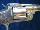 Antique Smith & Wesson 2nd Model SA .38. Excellent Mechanics. Tight As New. - 7 of 14