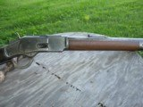 Antique 1873 Winchester 44-40 Round Barrel. Very Nice Strong Bore. Excellent Mechanics. MFG 1886. - 3 of 15
