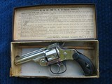 MINT Antique Smith & Wesson .32 Caliber DA Revolver With Excellent Original Box. Hard To Improve On This One !!!