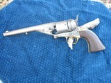 Antique Colt 1861 Conversion...38 Center Fire. Traces of Finish. Crisp And Tight As New. Near excellent Bore.