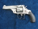 Antique Smith & Wesson 2nd Model Double Action .38 S&W Caliber. Lots Of Original Finish. Tight As New. Excellent Bore.