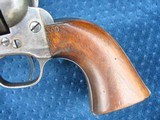 """Very Nice Antique Colt Artillery Revolver. 5 1/2"""" Barrel..45 Caliber. Lots of Finish. Excellent Mechanics. Very Early Barrel With Exposed S/N... - 3 of 15"""