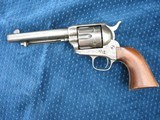 """Very Nice Antique Colt Artillery Revolver. 5 1/2"""" Barrel..45 Caliber. Lots of Finish. Excellent Mechanics. Very Early Barrel With Exposed S/N... - 1 of 15"""