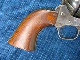 """Very Nice Antique Colt Artillery Revolver. 5 1/2"""" Barrel..45 Caliber. Lots of Finish. Excellent Mechanics. Very Early Barrel With Exposed S/N... - 5 of 15"""
