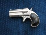 Antique Remington Derringer Type 3. Perfect Hinges. Good Bores. Excellent Mechanics Rotating Firing Pins. Includes Two Rounds Original .41 RF.