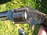 Excellent Antique Smith & Wesson #2 Old Army. Lots Of Bright Blue. Crisp And Tight As New. No Wobbles. Civil War S/N Range...Priced Right!!! - 4 of 15