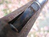 Antique 1873 Winchester 44-40 Caliber. Octagon Barrel. Original And Honest. Shootable Bore. - 13 of 15