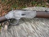 Antique 1873 Winchester 44-40 Caliber. Octagon Barrel. Original And Honest. Shootable Bore. - 3 of 15