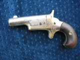 Antique Colt Thuer Derringer. Early 3rd Model 2nd Variation With High Hammer Spur And Tight Grip Curl.