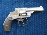 "antique .32 caliber 1st model smith & wesson safety hammerless or ""lemon squeezer"" excellent throughout."