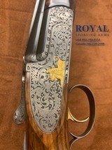 spectacular!!! perazzi small frame 3 barrel set subguage gun must see!! perazzi mx820 frame