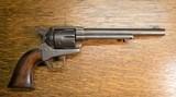 Colt single action army revolver, civilian, made in 1874! .45 caliber slant barrel address