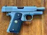 Colt 1911 Series 80 Stainless Officer's Model - 9 of 10