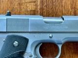 Colt 1911 Series 80 Stainless Officer's Model - 2 of 10