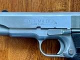 Colt 1911 Series 80 Stainless Officer's Model - 8 of 10