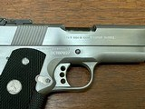 Colt 1911 Stainless Gold Cup Trophy .45 ACP - 4 of 13