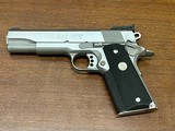 Colt 1911 Stainless Gold Cup Trophy .45 ACP