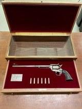 Colt Buntline .45 Long Colt Commemorative In Case Unturned and Unfired