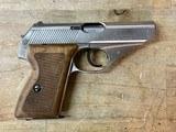 Mauser HSC Nickel .380