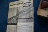 Mannlicher Schoenauer Rifle - Aurora Unbuilt Model Kit c.1959 - 9 of 10
