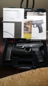 Walther PPQ .45 Brand New in box unfired