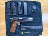 Colt's MK IV/Series '70 Gold Cup National Match .45 w/.22LR receiver matched set! MINT Condition - 10 of 14