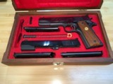 Colt's MK IV/Series '70 Gold Cup National Match .45 w/.22LR receiver matched set! MINT Condition - 4 of 14