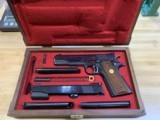 Colt's MK IV/Series '70 Gold Cup National Match .45 w/.22LR receiver matched set! MINT Condition