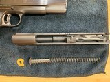 Colt's MK IV/Series '70 Gold Cup National Match .45 w/.22LR receiver matched set! MINT Condition - 11 of 14