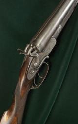 W. & C. Scott & Son - Side Lever Hammer Gun
