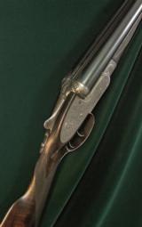 "F. Beesley Model No.1 ""BEST"" Sidelock, 12 gauge, 28 1/4"" bbls. - 1 of 7"