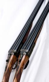"J. Blanch & Son Best Boxlock Ejector Assisted Opener 12 Bore Matched Pair, 26"" bbls."