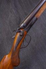 """H. SCHERPING Back Action 12 gauge Hammer Gun, 28"""" bbls."""